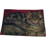 1916 Saalfield's Muslin Kitty Clover Book
