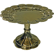Elkington & Co Gilt and Silver Plate large Tazza, 1891.