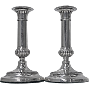 Georgian Sterling Silver Candlesticks, 1805, John Roberts & Co.