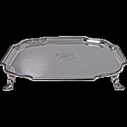 Asprey Sterling Silver Georgian style Salver, London 1911