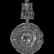 Early 20th century Dutch Silver Tea Strainer, C.1910.