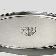 Georgian Silver Salver.  London 1790,  John Schofield.