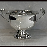 Charles Boyton Antique English Silver Trophy Bowl, London 1912,