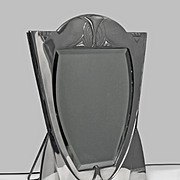 WMF Art Nouveau Jugendstil Secessionist large silver plate Mirror, Germany, C.1900