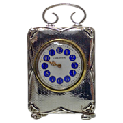 Antique Silver Carriage Clock,Birmingham 1911, ? & Co