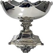 Silver Rose Bowl Centrepiece, London 1903, Henry Wilkinson & Co