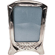 Jugendstil Secessionist Pewter Frame by Orivit Germany C.1900