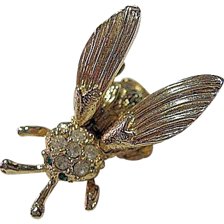 Trembling Wings Bee Insect Pin