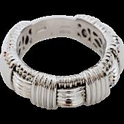 Roberto Coin Appassionata 18K White Gold Ring