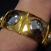 Large Gucci Chunky Fashion Bracelet, 1992