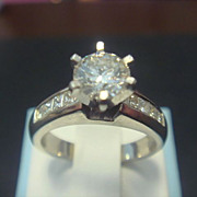 Will You Marry Me? Platinum Diamond Engagement Ring