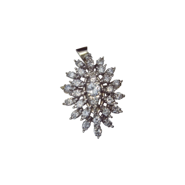 Wowza! Three Carat Diamond Pendant/Brooch