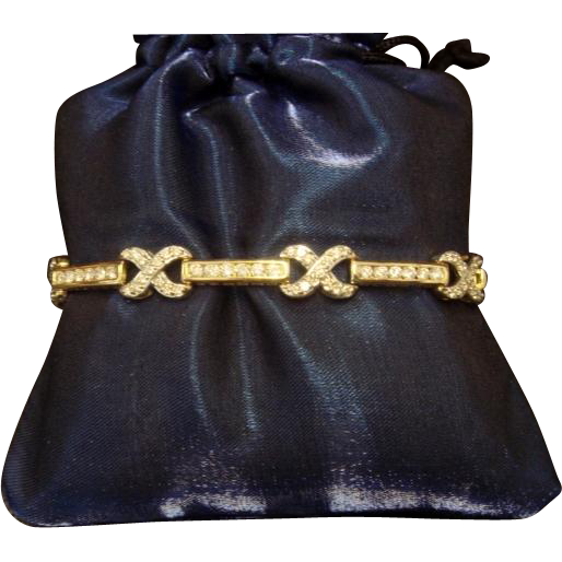 """""""Passionate Kisses"""" 5-Carat + Diamond Bracelet in 14K"""