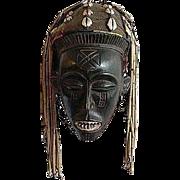 African Tribal Mask, Chokwe Mwanaphwo - Kasai, Zaire