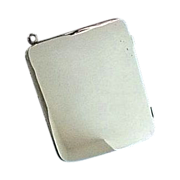 Purse Photograph Case, Sterling Silver - Edwardian
