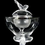 Fabulous Lalique  IGOR Caviar Bowl