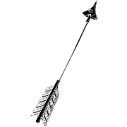 Cartier Art Deco Jabot Pin - Platinum, Diamonds and Onyx