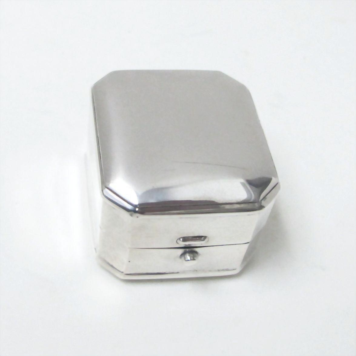 birks sterling silver ring box edwardian from luxury on