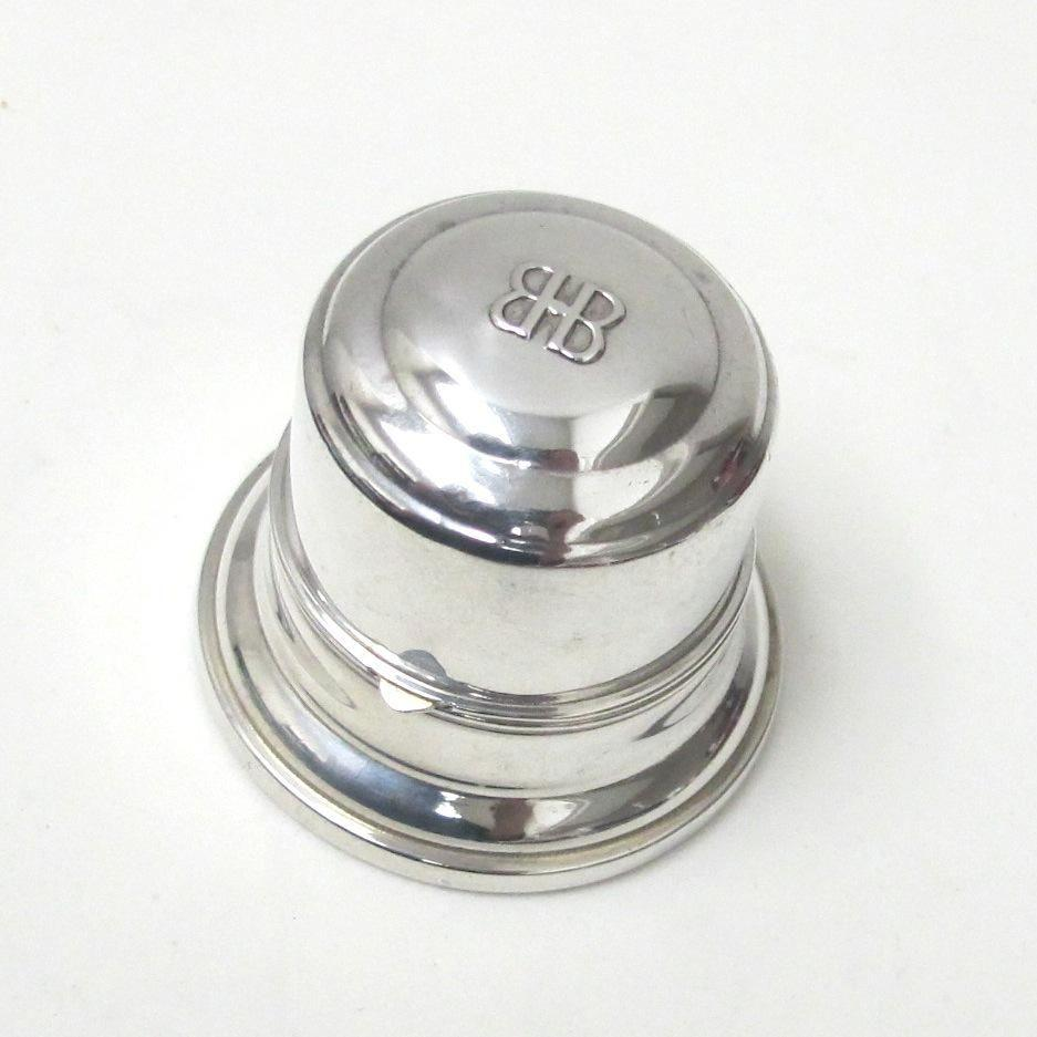 birks sterling silver ring box circa 1940 s from luxury