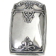 Sterling Silver Vesta Case