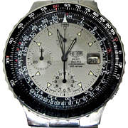 HEUER Pilot Quartz 230 006 Aviation Watch, Circa 1980's