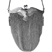 Fine Sterling Silver Collector's Bag - 19th Century