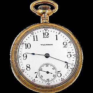 American Waltham GF Pocket Watch, Circa 1902