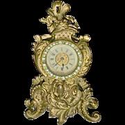 Rhinestone Ansonia Mantel Clock – Victorian