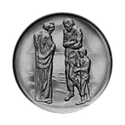 PICASSO - Sterling Plate - A Tribute to Picasso - THE TRAGEDY - Sealed Sterling Plate in Bas Relief