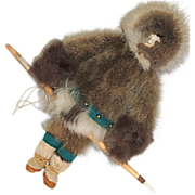 Inuit Alaskan Native American Indian Doll