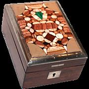 Pietra Dura Watch Stand/Holder/Box/Display Case