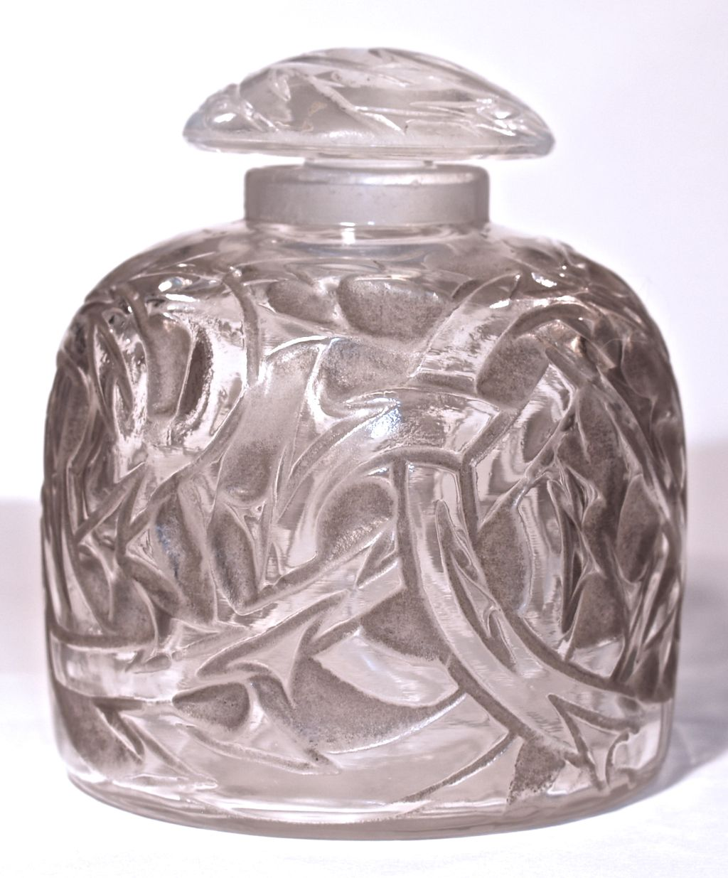 "R. LALIQUE - 1920  ""Epines"" (Thorns) Perfume/Ink Pot"