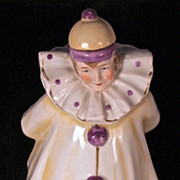 POIROT PERFUME - Marked 7417 Germany - Porcelain Clown