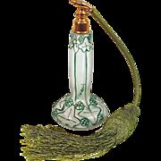 "JULIAN VIARD ""Paradis"" Art Nouveau  Perfume Atomizer - Circa 1920"