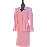 LILLI ANN - Bubblegum Pink Peplum Suit
