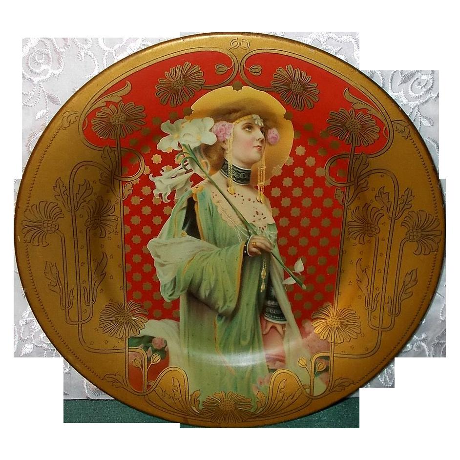 Phantasie - Vienna Art Plate by Royal Saxony - Chas. Shonk Co.