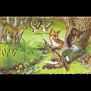 Mainzer Dressed Cats Postcard - The Sleeping Hunter - Printed in Belgium