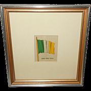 Silk Flag of Irish Free State - 3 of 3