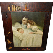 Clarence Underwood Embellished Framed Print of Our Boy - Parents with Baby