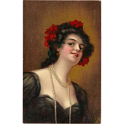 Raphael Tuck & Sons Connoisseur Series Postcard of Kathleen