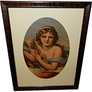 Chromolithograph of Saint John the Baptist