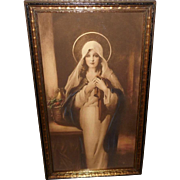 C. Bosseron Chambers Madonna of the Sacred Coat - Red Tag Sale Item