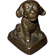 Bonzo the Dog Cast Iron Paperweight - Red Tag Sale Item