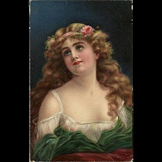 Artopaint Head Series by Holzman - Beautiful Woman