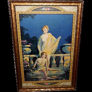 Chester Van Nortwick Art Deco Style Ladies in The Enchanted Pool