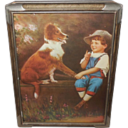 R. Atkinson Fox Boy and Dog - Speak Rover