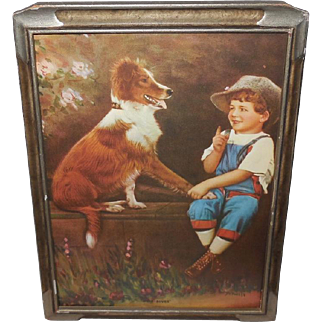 R. Atkinson Fox Boy and Dog - Speak Rover