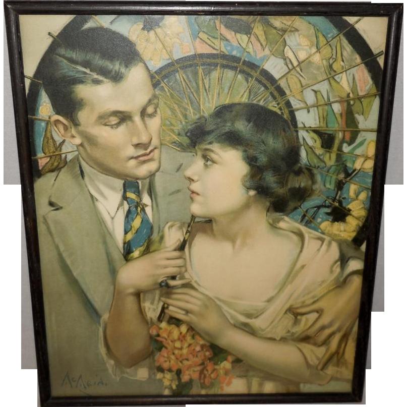 Vintage Art Deco Picture Frame