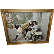 Romantic Couple in Costume - Photo Print