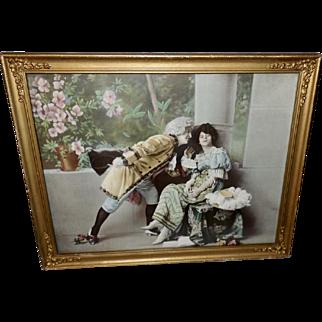 Romantic Couple in Costume - Photo Print